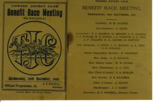 Benefit Race Meeting